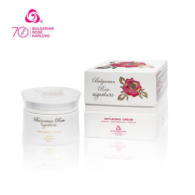 ROSE SIGNATURE Anti-aging Face Cream - Face Moisturisers - Bulgarian Rose Karlovo - Naiise
