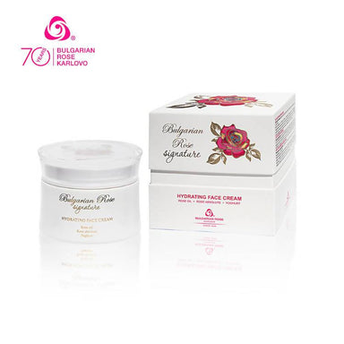 ROSE SIGNATURE Hydrating Face Cream - Face Moisturisers - Bulgarian Rose Karlovo - Naiise