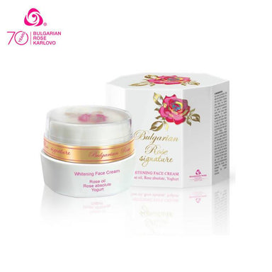 ROSE SIGNATURE Whitening Face Cream - Face Moisturisers - Bulgarian Rose Karlovo - Naiise
