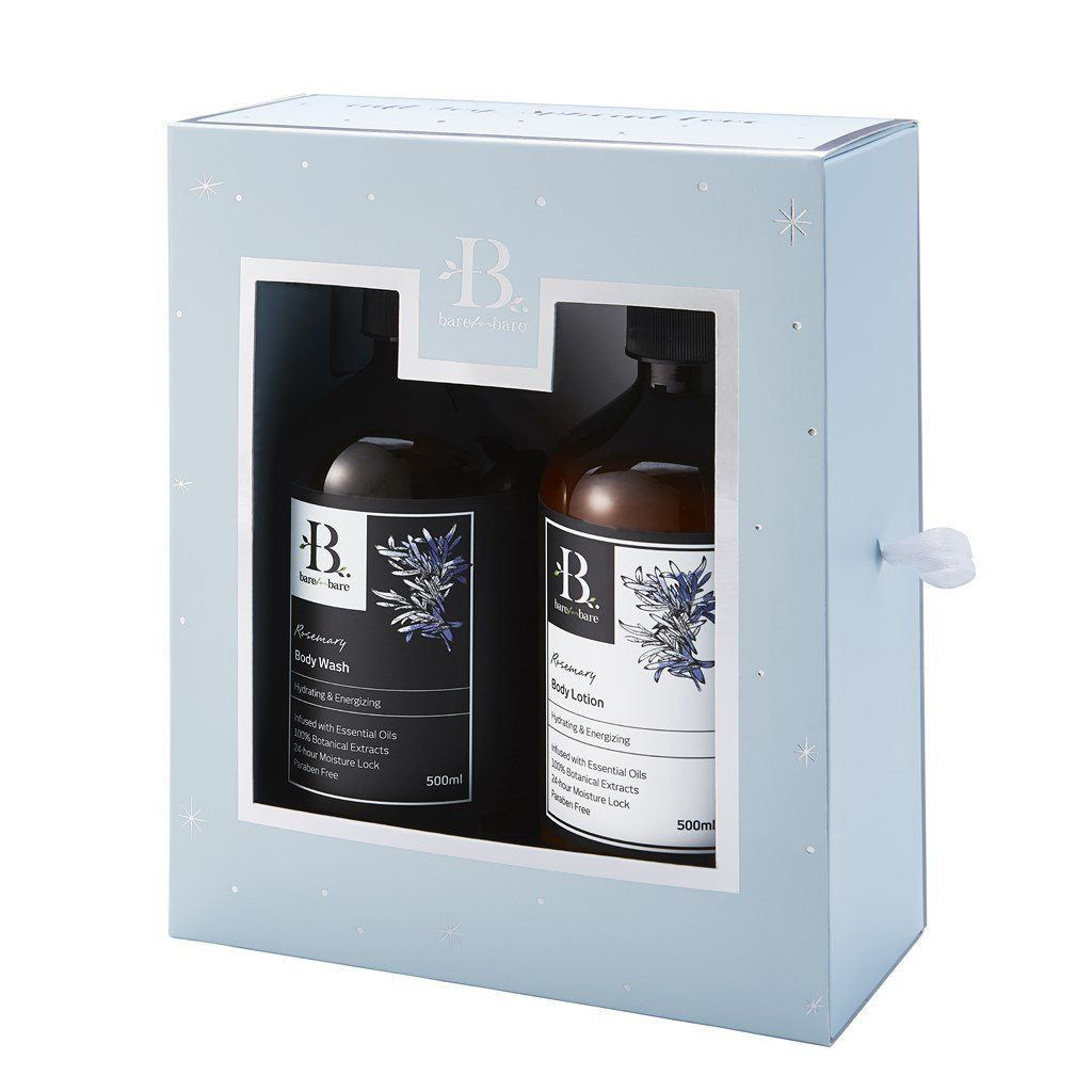 Rosemary 2019 L.E Gift Set (500ml x 2) - Beauty Gift Sets - Bare for Bare - Naiise