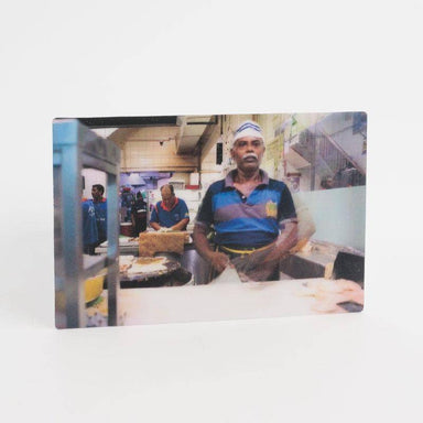 Roti Prata Lenticular Postcard - Local Postcards - Ok Can Lah - Naiise