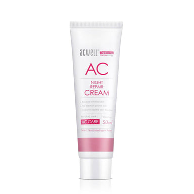 Acwell AC Night Repair Cream - Face Moisturisers - Beauty Store Official - Naiise
