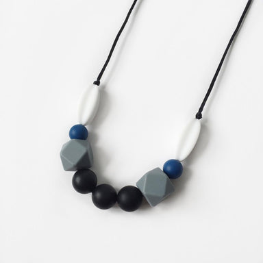 Sage Silicone Necklace - Ink Blue - Necklaces - Anders & Dawn - Naiise