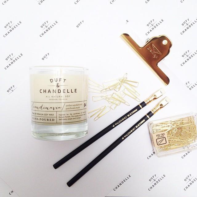 Scandinavia Candle Scented Candles Duft and Chandelle