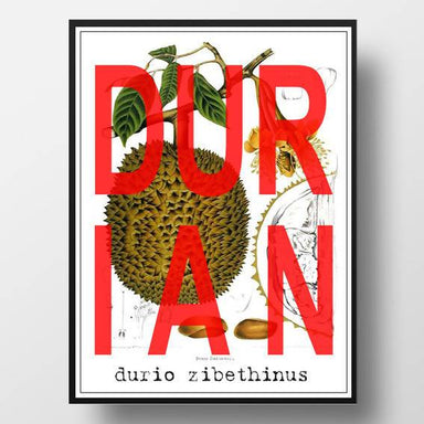 Scientific Durian Print - Prints - Big Red Chilli - Naiise