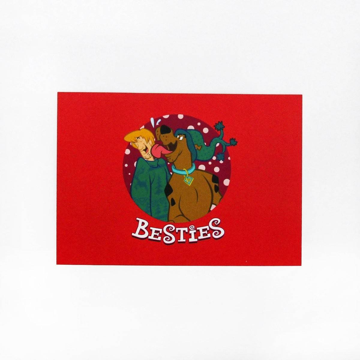 Scooby Doo Besties Card - Friendship Cards - Ok Can Lah - Naiise