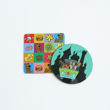 Scooby & Gang Cork Coaster Coasters Looney Tunes by Meykrs
