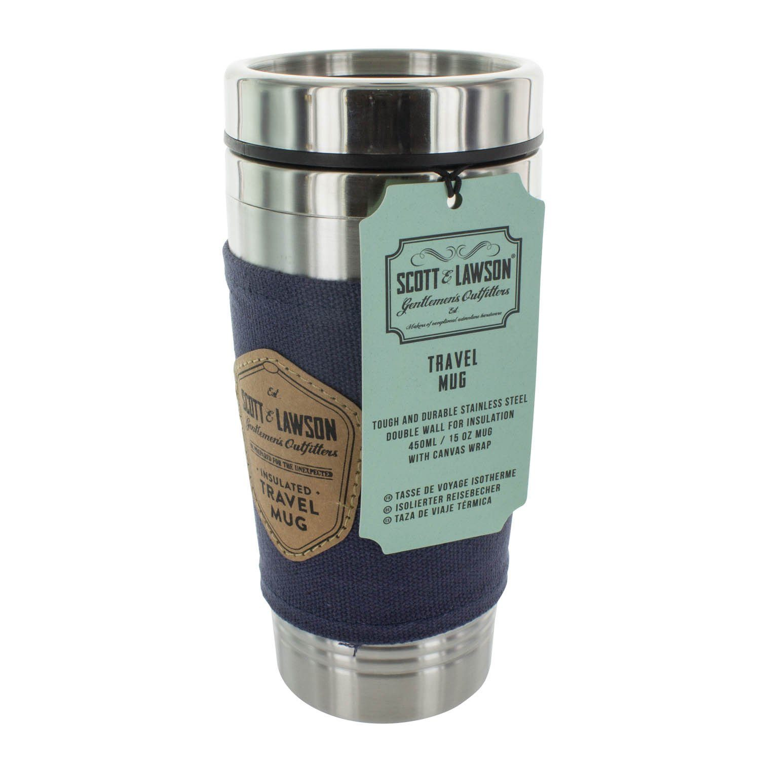 Scotts & Lawson Travel Mug Travel Accessories Paladone