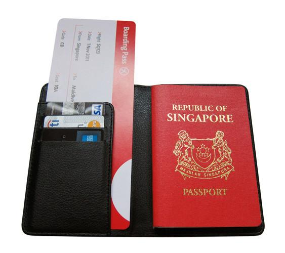 Scrambled Icons Passport Holder Local Accessories LOVE SG
