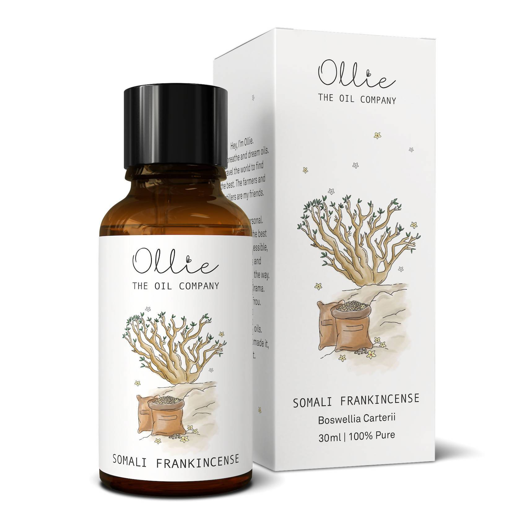 Ollie Somali Frankincense Essential Oil - Essential Oils - Ollie - Naiise
