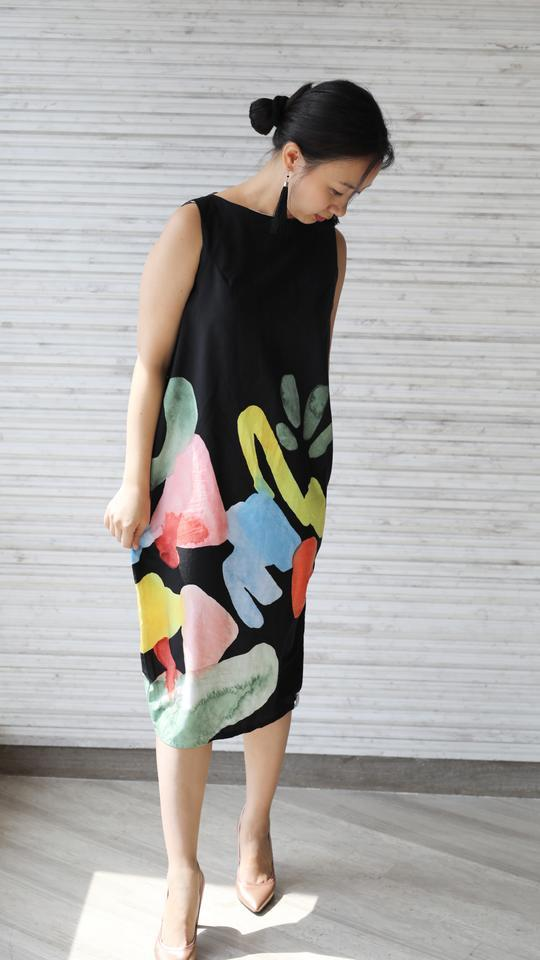 Sea Stones Tulip Dress (Pre-Order) - Dresses - Ans.ein - Naiise