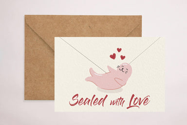 Sealed With Love card - Love Cards - YOUNIVERSE DESIGN - Naiise