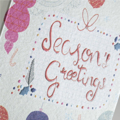 Season's Greetings Card Christmas Cards MULTIFOLIA ATELIER di Rita Girola