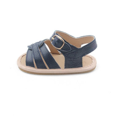 Selma for Grey Baby Sandals - Dark Blue (Pre-Order) - Kids' Shoes - Grey By Ortenhill - Naiise