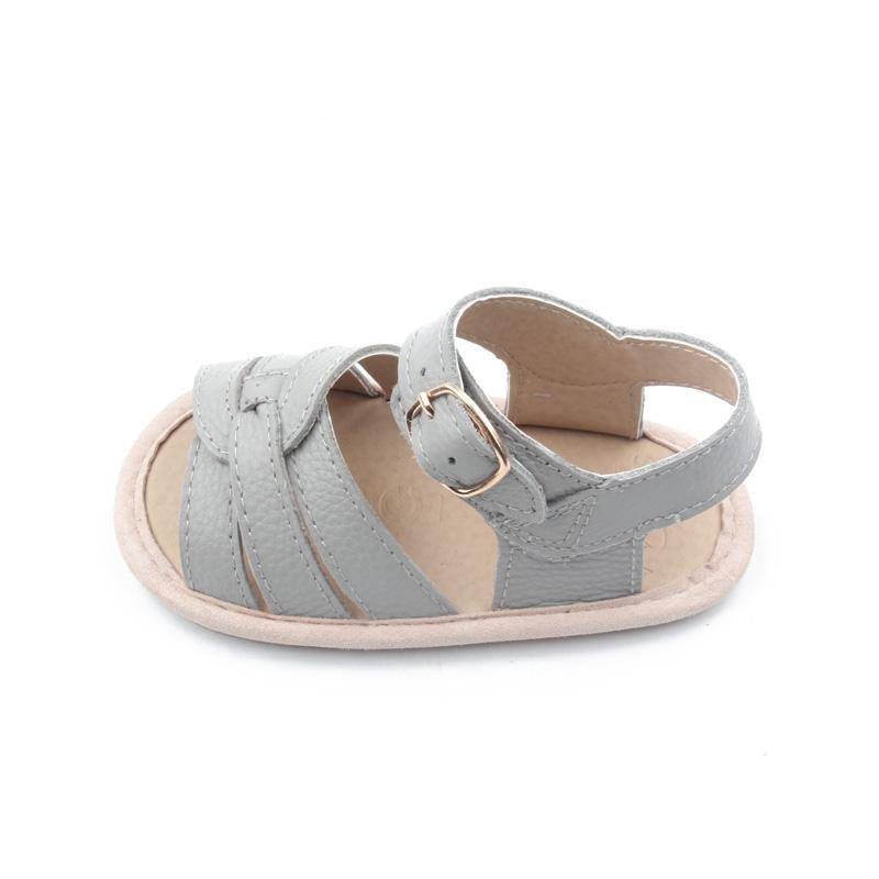 Selma for Grey Baby Sandals - Grey (Pre-Order) - Kids' Shoes - Grey By Ortenhill - Naiise