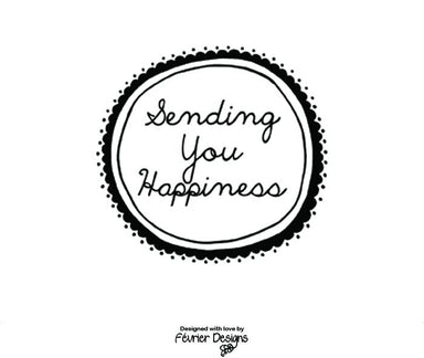 Sending You Happiness Card - Generic Greeting Cards - Fevrier Designs - Naiise