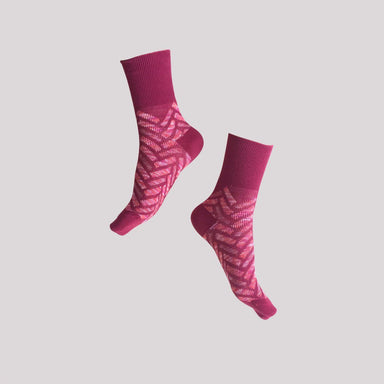 Seven Sunday / Burgundy Socks GoodPair