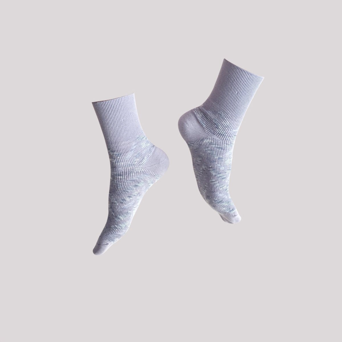 Seven Sunday / Light Grey - Socks - GoodPair - Naiise