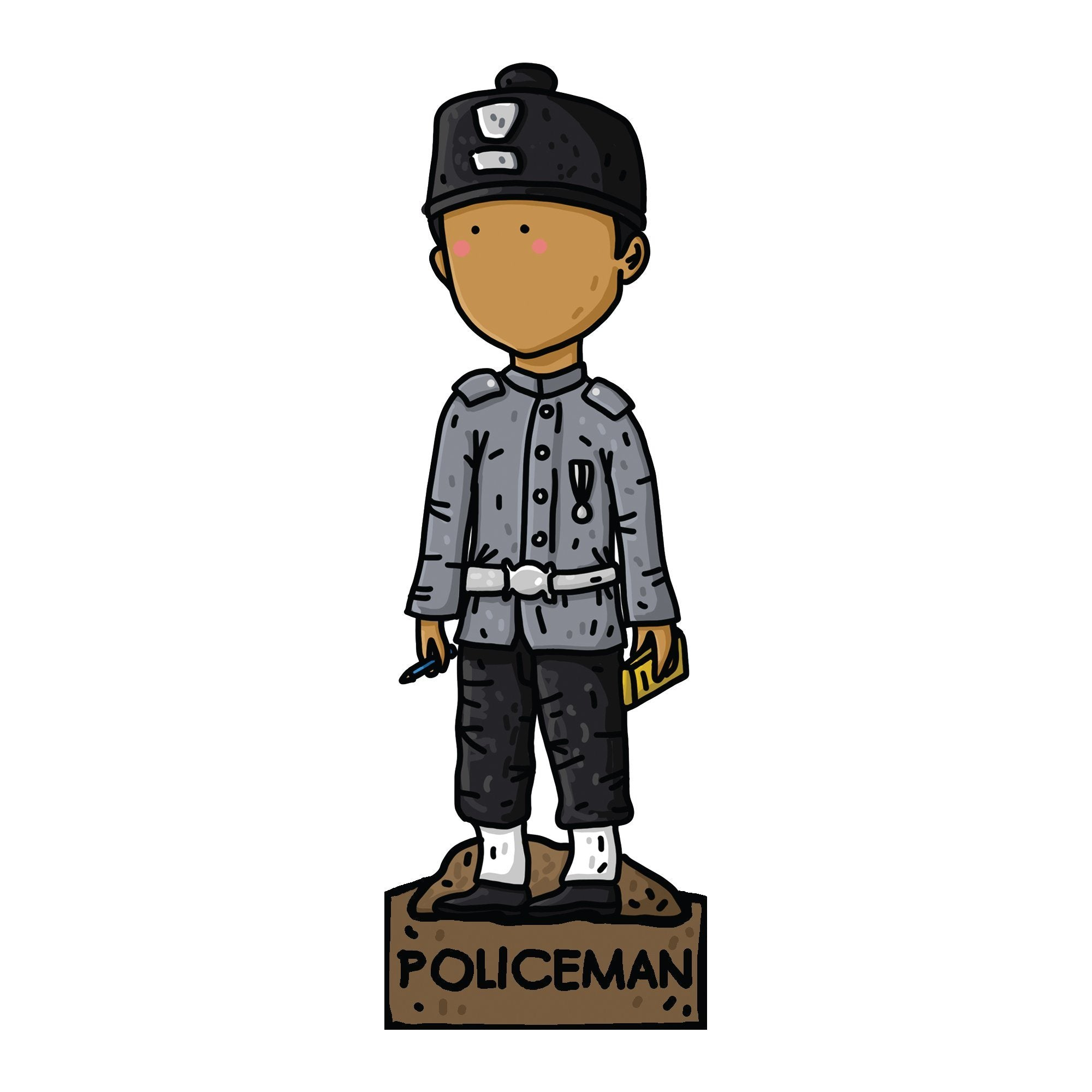 SG Bicentennial Bookmarks (Exclusive) Bookmarks Naiise Policeman
