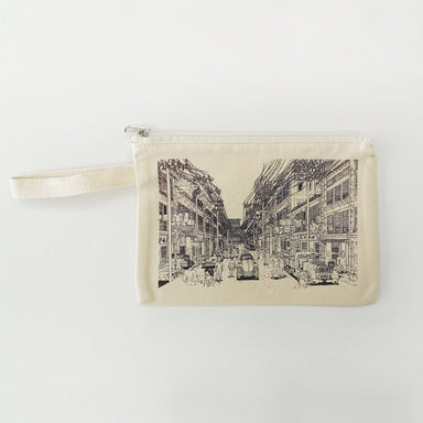 SG Bicentennial Iconic Shophouses Pouch (Exclusive) Pouches Naiise