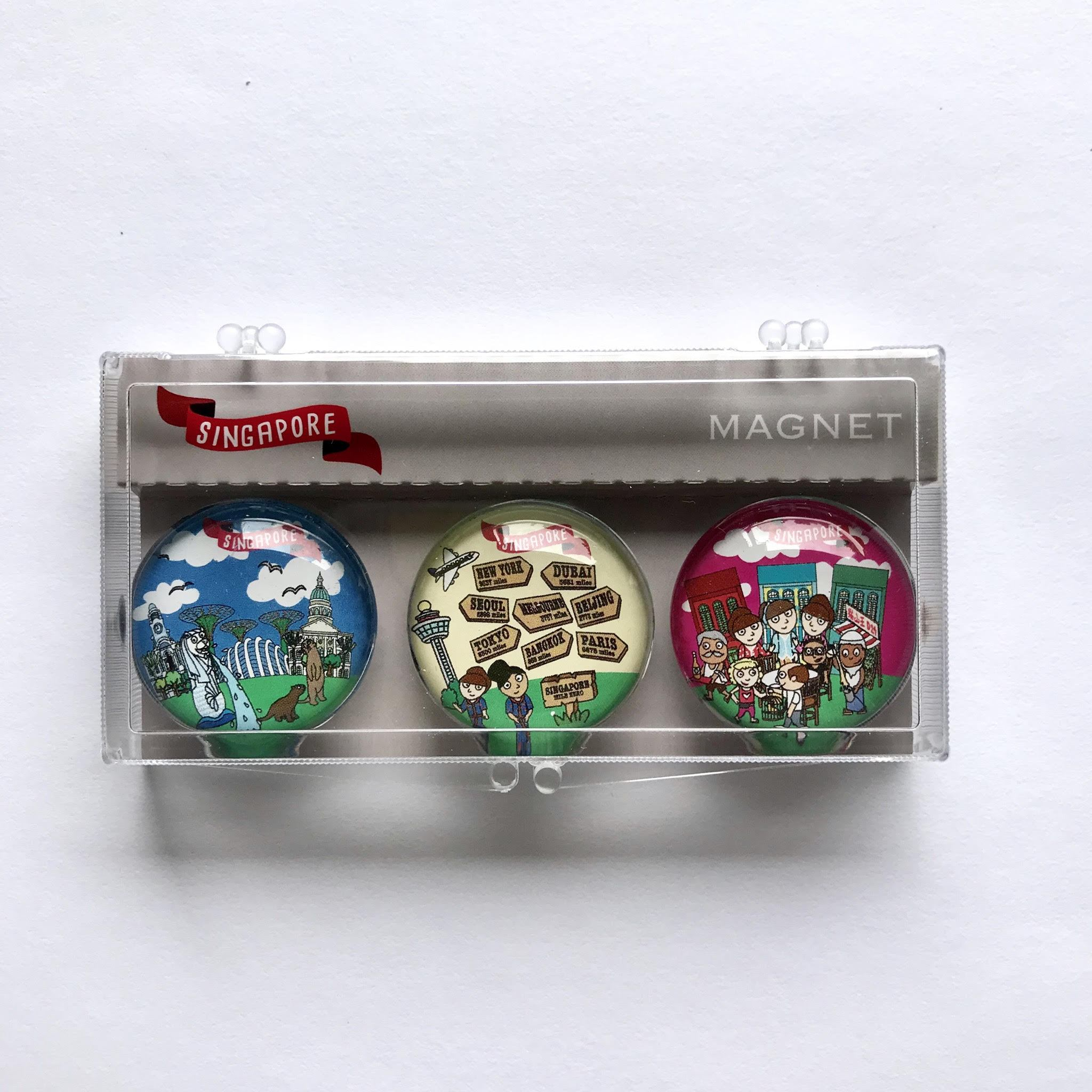 SG Magnet: Connected Metropolis - Local Magnets - Little Red Box - Naiise