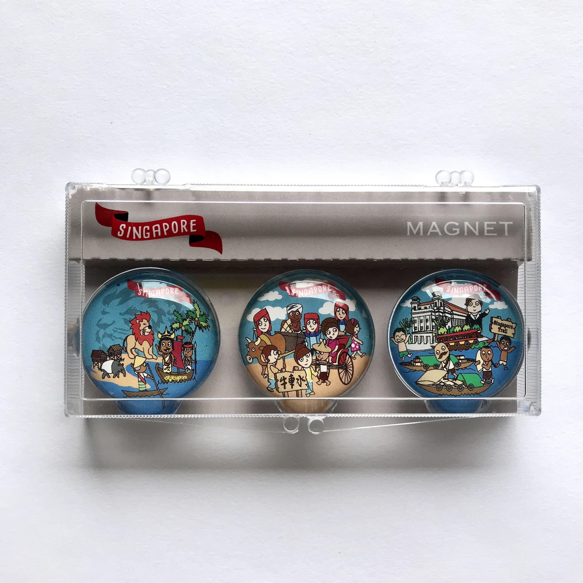SG Magnet: Heritage - Local Magnets - Little Red Box - Naiise