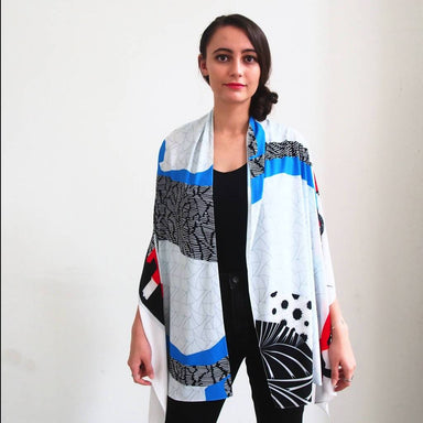 SG Skyline Shawl - Scarves - Lully Selb - Naiise