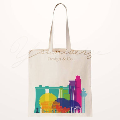 SG Skyline Totebag - Local Tote Bags - YOUNIVERSE DESIGN - Naiise