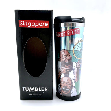 SG Tour Double Wall Travel Mug - Local Tumblers - Little Red Box - Naiise