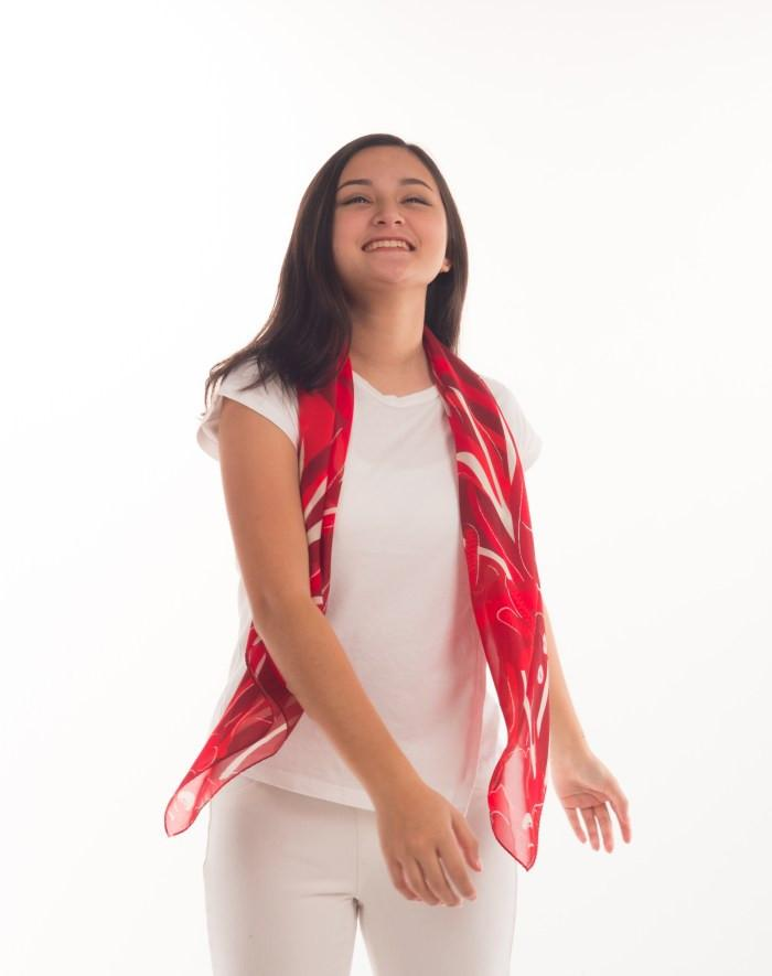 SG52 National day scarf Local Scarves Binary Style