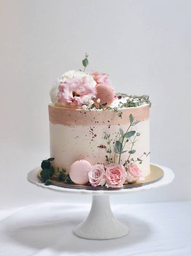 "Shades of Pink Cake -REG 6"" - Cakes - Zee and Elle Cakes - Naiise"
