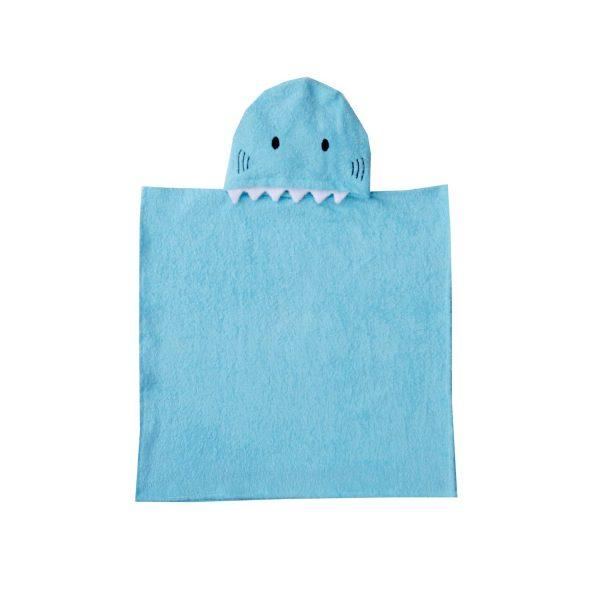 Shark Hooded Poncho Kids' Bath Towels SAVANA