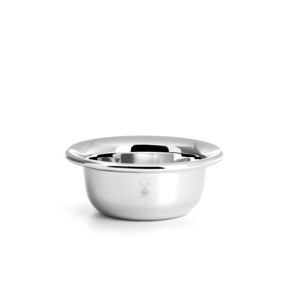 Shaving bowl, stainless steel - Shaving Accessories - MÜHLE Singapore - Naiise