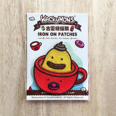 Shiek Coffee Iron On Patches - Naiise