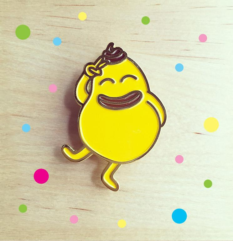 Shiek Happy Magnet - Magnets - Wackymons - Naiise