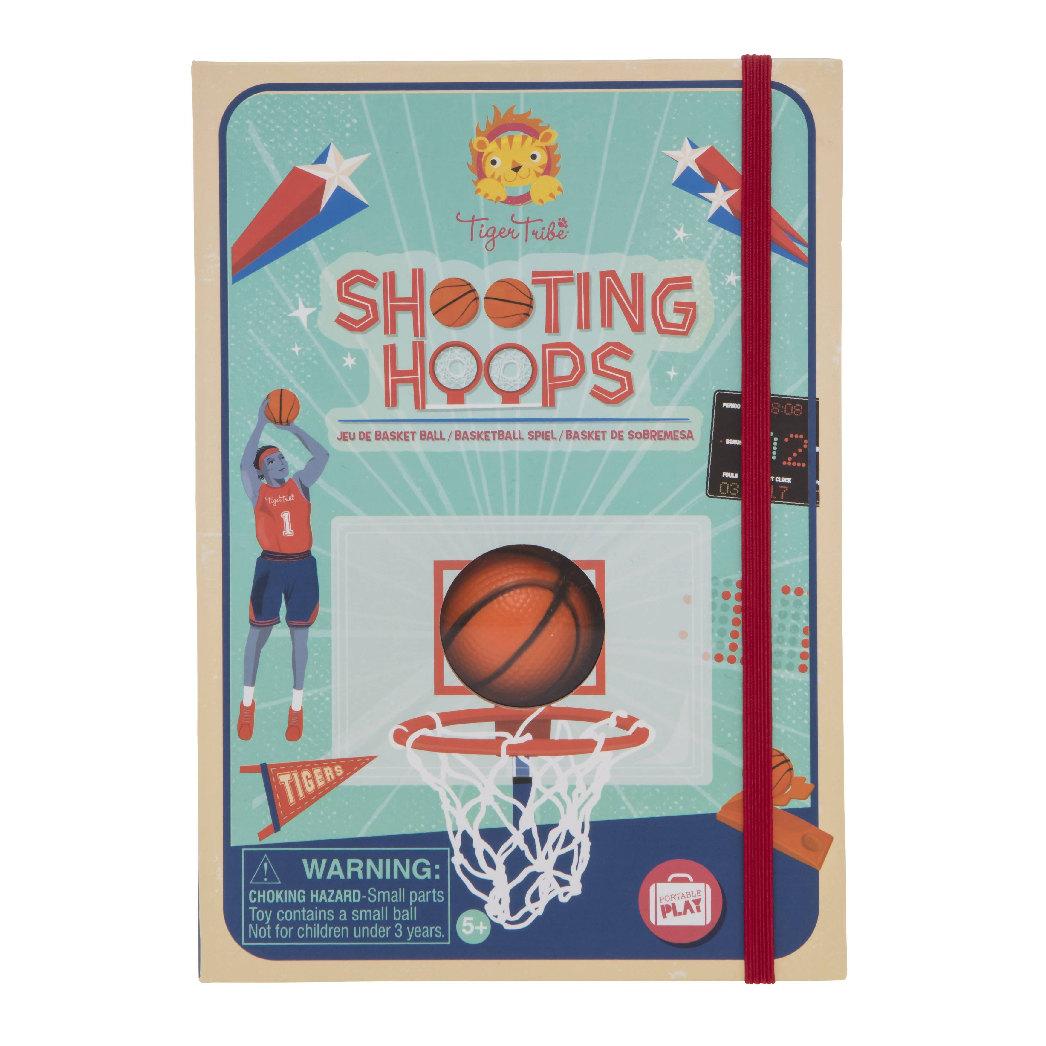 Tiger Tribe Shooting Hoops - Basketball Game - Kids Toys - The Children's Showcase - Naiise