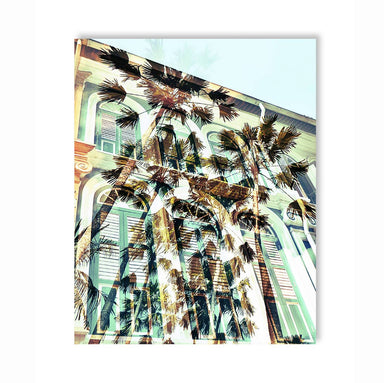 Shophouse Palms Wall Art - New Arrivals - MB Art - MemoryBoards - Naiise