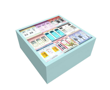 Shophouse Pastel Box - New Arrivals - MB Art - MemoryBoards - Naiise