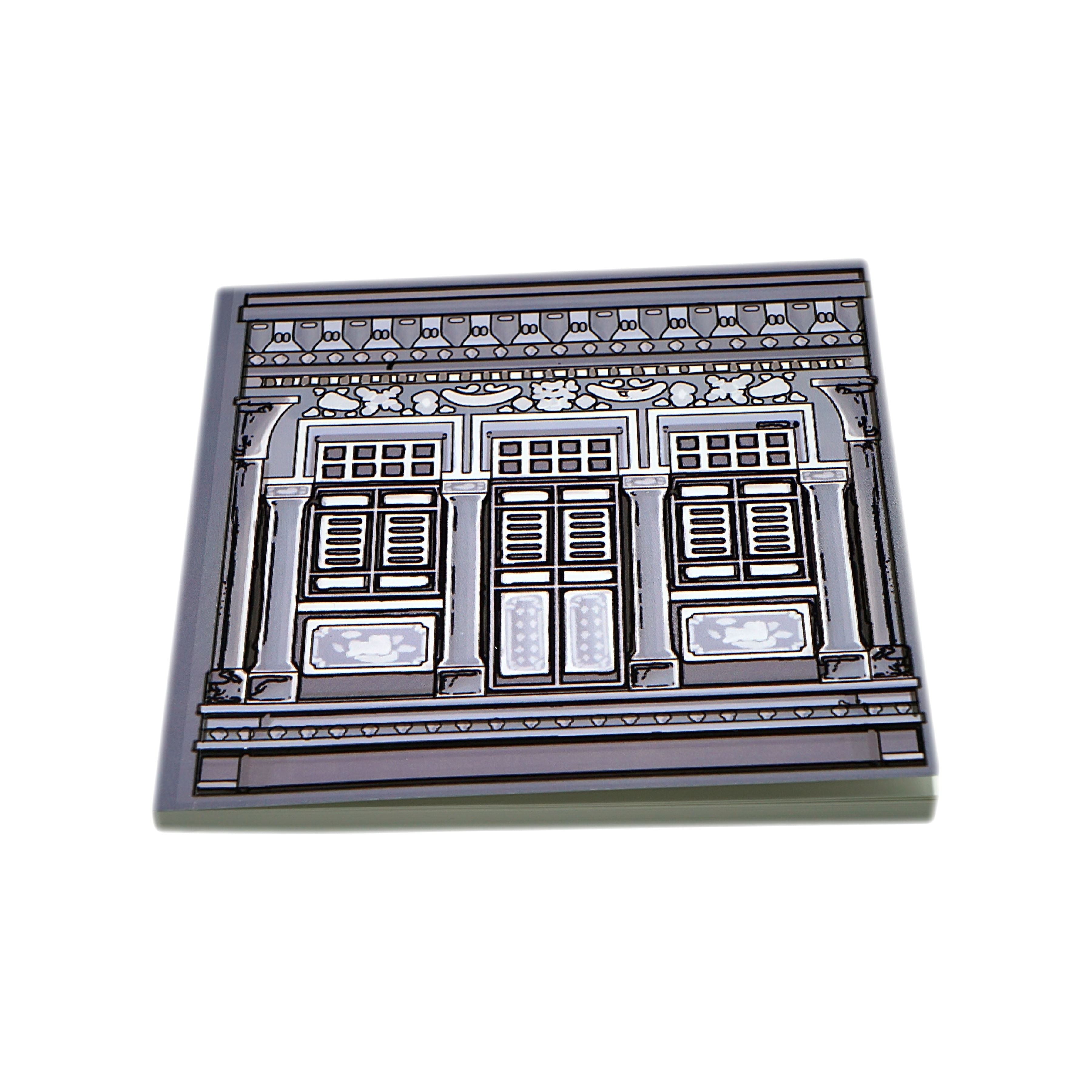 Shophouse Window Notebook - Notebooks - One Gallery - Naiise
