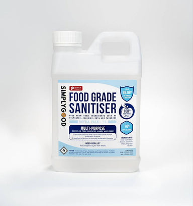 SimplyGood Food Grade Sanitiser Refill Packs - Sanitisers - SimplyGood - Naiise