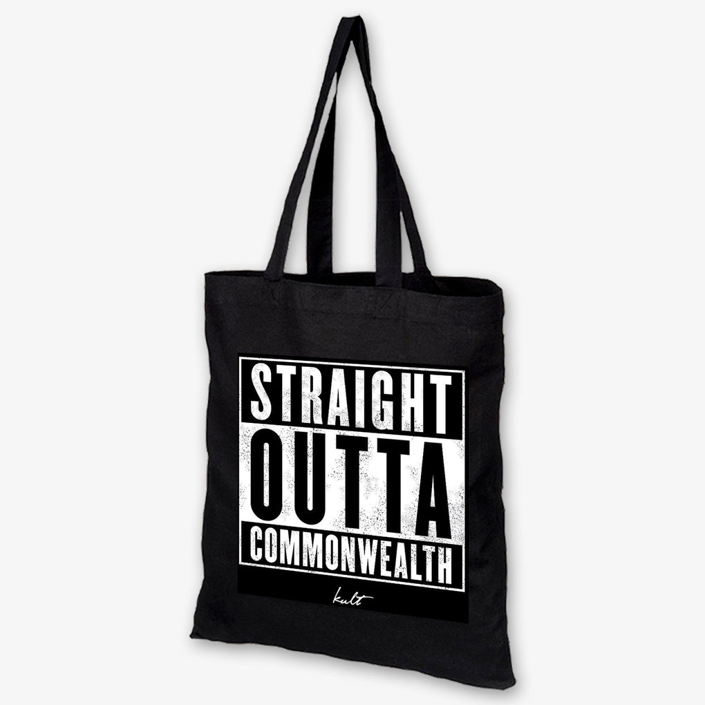 Sin City Tote Bag - Straight Outta Commonwealth Tote Bags Kult3D