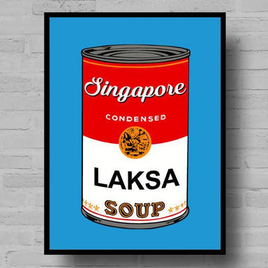 Singapore Campbells Soup Print - Local Prints - Big Red Chilli - Naiise