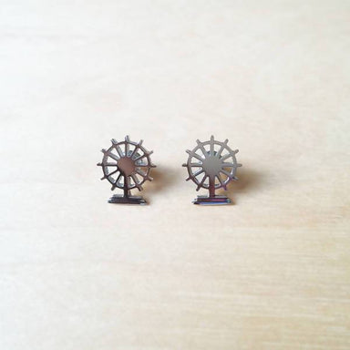 Singapore Flyer earring - Local Jewellery - Mavery - Naiise