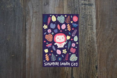 Singapore Garden City Postcard - Local Postcards - The Forest Factory - Naiise
