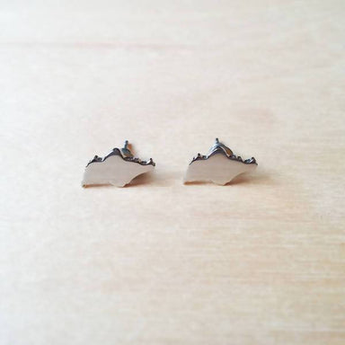 Singapore map earring - Local Jewellery - Mavery - Naiise