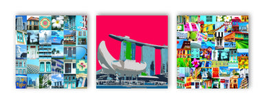 Singapore Mix Extended Wall Art - New Arrivals - MB Art - MemoryBoards - Naiise
