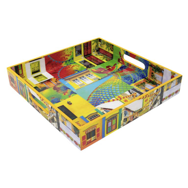 Singapore Pop-Up Art Design Tray Tableware Photo Phactory