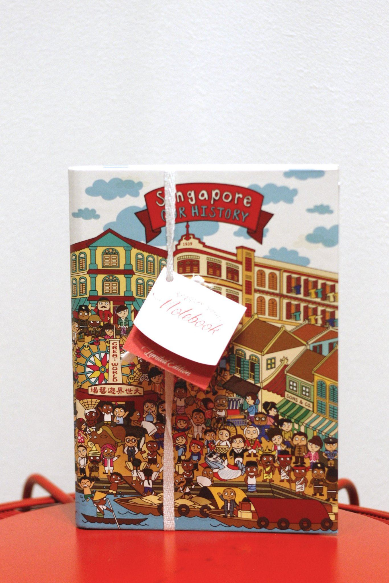 Singapore Series A5 Notebook - Local Notebooks - Little Red Box - Naiise