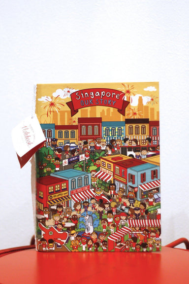 Singapore Series A5 Notebook Local Notebooks Little Red Box Our Story