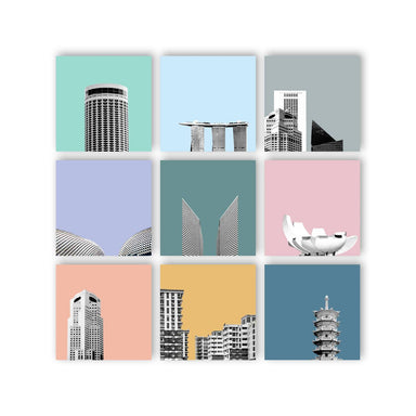 Singapore Skywall Art - New Arrivals - MB Art - MemoryBoards - Naiise